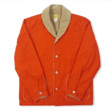 THE BLUEST OVERALLS WORK BORE JACKET -orange-