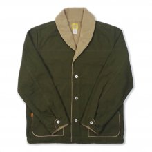 THE BLUEST OVERALLS WORK BORE JACKET -olive-