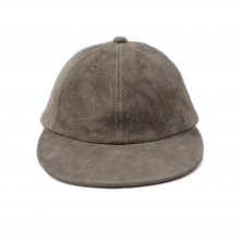 THE COLOR SUEDE SUN CAP -greige-