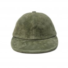 THE COLOR SUEDE SUN CAP -olive-