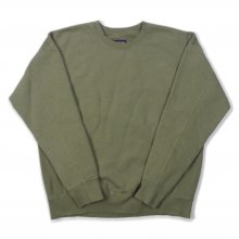 <img class='new_mark_img1' src='//img.shop-pro.jp/img/new/icons14.gif' style='border:none;display:inline;margin:0px;padding:0px;width:auto;' />THE FABRIC RIB ST. CREW SWEAT -olive-