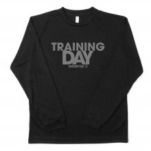 <img class='new_mark_img1' src='https://img.shop-pro.jp/img/new/icons35.gif' style='border:none;display:inline;margin:0px;padding:0px;width:auto;' />O3 RUGBY GAME wear & goods TRAINING DAY dry L/S TEE -black/gray-