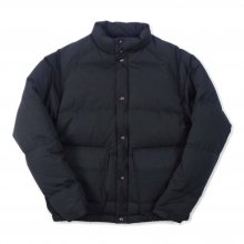 THE FABRIC WORK DOWN JKT -black-