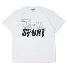 <img class='new_mark_img1' src='https://img.shop-pro.jp/img/new/icons14.gif' style='border:none;display:inline;margin:0px;padding:0px;width:auto;' />TRANSPORT CRUSH T-SHIRT WHITE