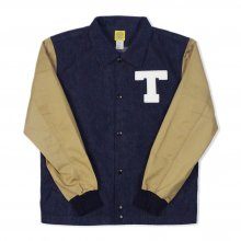 <img class='new_mark_img1' src='https://img.shop-pro.jp/img/new/icons14.gif' style='border:none;display:inline;margin:0px;padding:0px;width:auto;' />THE BLUEST OVERALLS STUDIUM DENIM JACKET