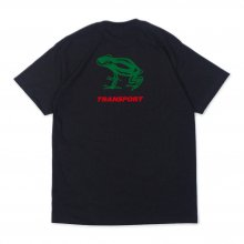 Transport + Blankmag Frog T-shirt Black