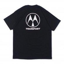 Transport + Blankmag Moto T-shirt Black