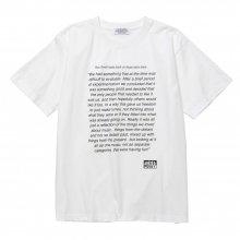<img class='new_mark_img1' src='https://img.shop-pro.jp/img/new/icons14.gif' style='border:none;display:inline;margin:0px;padding:0px;width:auto;' />POET MEETS DUBWISE Smith & Mighty T-Shirt -white-