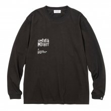 <img class='new_mark_img1' src='https://img.shop-pro.jp/img/new/icons14.gif' style='border:none;display:inline;margin:0px;padding:0px;width:auto;' />POET MEETS DUBWISE Smith&Mighty Long Sleeve T-Shirt -sumi-