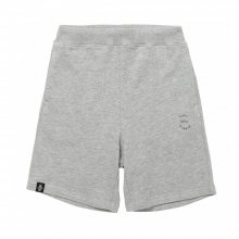 POET MEETS DUBWISE PMD Logo Embroidery Shorts -gray-