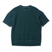 THE FABRIC SOFT S/S SWEAT -green-