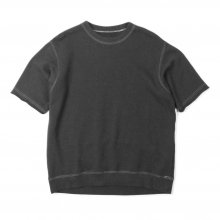 THE FABRIC SOFT S/S SWEAT -chacoal-