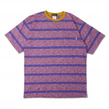 <img class='new_mark_img1' src='https://img.shop-pro.jp/img/new/icons14.gif' style='border:none;display:inline;margin:0px;padding:0px;width:auto;' />SAYHELLO Trim Border S/S Pocket Tee -red-