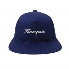 TRANSPORT × CLUBHAUS Long Brim Cap - navy