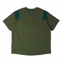 THE FABRIC  SixteenTwo AF mesh Tee -olive-