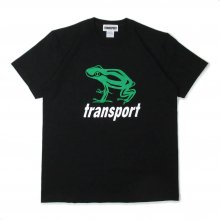 TRANSPORT BIG FROG T-SHIRT -black-