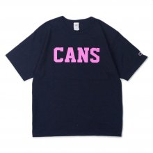 THE FABRIC CANS TEE -navy- CANDYRIM STORE EXCLUSIVE