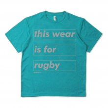 <img class='new_mark_img1' src='https://img.shop-pro.jp/img/new/icons14.gif' style='border:none;display:inline;margin:0px;padding:0px;width:auto;' />O3 RUGBY GAME wear & goods this wear dry S/S TEE -mintblue/gray-
