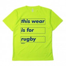 <img class='new_mark_img1' src='https://img.shop-pro.jp/img/new/icons14.gif' style='border:none;display:inline;margin:0px;padding:0px;width:auto;' />O3 RUGBY GAME wear & goods this wear dry S/S TEE -neonyellow/navy-