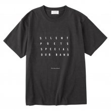 <img class='new_mark_img1' src='https://img.shop-pro.jp/img/new/icons14.gif' style='border:none;display:inline;margin:0px;padding:0px;width:auto;' />POET MEETS DUBWISE SILENT POETS SPECIAL DUB BAND T-Shirt -sumi-