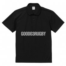 <img class='new_mark_img1' src='https://img.shop-pro.jp/img/new/icons14.gif' style='border:none;display:inline;margin:0px;padding:0px;width:auto;' />O3 RUGBY GAME wear & goods GOODWEEKEND dry POLO -black/gray-