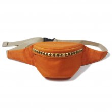 <img class='new_mark_img1' src='https://img.shop-pro.jp/img/new/icons14.gif' style='border:none;display:inline;margin:0px;padding:0px;width:auto;' />THE COLOR STUDS WAIST POUCH -orange-