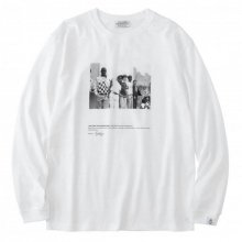 <img class='new_mark_img1' src='https://img.shop-pro.jp/img/new/icons14.gif' style='border:none;display:inline;margin:0px;padding:0px;width:auto;' />POET MEETS DUBWISE WALL STREET YOUTH Long Sleeve T-Shirt