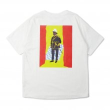 <img class='new_mark_img1' src='https://img.shop-pro.jp/img/new/icons14.gif' style='border:none;display:inline;margin:0px;padding:0px;width:auto;' />THE FABRIC MURCUS GARVEY TEE -white-
