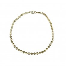 <img class='new_mark_img1' src='https://img.shop-pro.jp/img/new/icons14.gif' style='border:none;display:inline;margin:0px;padding:0px;width:auto;' />THE COLOR BALL WRIST CHAIN -gold plated silver 925-