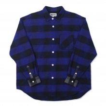 <img class='new_mark_img1' src='https://img.shop-pro.jp/img/new/icons14.gif' style='border:none;display:inline;margin:0px;padding:0px;width:auto;' />TRANSPORT Buffalo Love Shirt (BLUE x GREY)