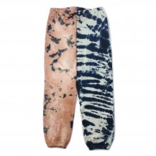 <img class='new_mark_img1' src='https://img.shop-pro.jp/img/new/icons14.gif' style='border:none;display:inline;margin:0px;padding:0px;width:auto;' />Hombre Nino TIE DYE SWEAT PANTS -white brown-