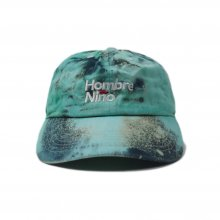 <img class='new_mark_img1' src='https://img.shop-pro.jp/img/new/icons14.gif' style='border:none;display:inline;margin:0px;padding:0px;width:auto;' />Hombre Nino TIE DYE 5 PANEL CAP -teal black-