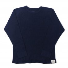 <img class='new_mark_img1' src='https://img.shop-pro.jp/img/new/icons14.gif' style='border:none;display:inline;margin:0px;padding:0px;width:auto;' />THE FABRIC THERMAL RAGLAN SWEAT -navy-