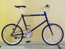 "cycroc × THE UNION ""THE FLAT1 matt indigo"" 20inch track bike 2size -candyrim store ltd.-"