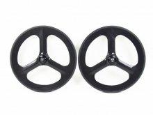 CR Carbon Tri-spoke wheel SINGLE SPEED 20inch.-451model- for FLAT1