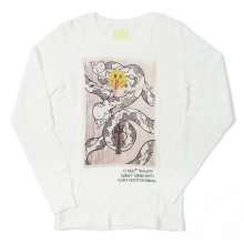 "SNAKE'S PORNO WHEEL ""SNAKE LADY"" THERMAL L/S"