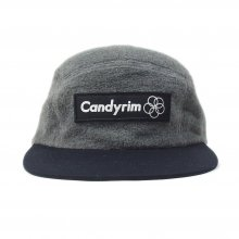 CANDYRIM -wareline- FLEECE JET CAP gray