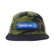 CANDYRIM -wareline- FLEECE JET CAP camobl