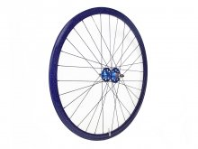CANDYRIM PURPLE with Rainbow Lamé RIM & BLUE HUB REAR WHEEL