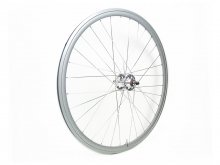 CANDYRIM SILVER with Rainbow Lamé RIM & SILVER HUB REAR WHEEL