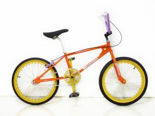 "KUWAHARA KZ-01 ""HERMES ORANGE"" -PROTOTYPE- CANDYRIM BIKEWORKS SPECIAL CUSTOM LTD."