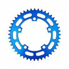 """<img class='new_mark_img1' src='https://img.shop-pro.jp/img/new/icons14.gif' style='border:none;display:inline;margin:0px;padding:0px;width:auto;' />SUGINO BMX CHAINRING PCD110 1/8(厚歯) 44T BLUE """"VINTAGE PARTS"""""""