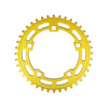 "SUGINO BMX CHAINRING PCD110 1/8(厚歯) 40T GOLD ""VINTAGE PARTS"""