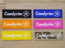 CANDYRIM -wearline- BOXLOGO WAPPEN -5assort SET-