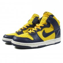<img class='new_mark_img1' src='//img.shop-pro.jp/img/new/icons14.gif' style='border:none;display:inline;margin:0px;padding:0px;width:auto;' />NIKE DUNK HIGH LE -Midnight Navy / Varsity Maize-  vintage