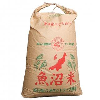 北魚沼の旬米コシヒカリ【玄米/減農薬栽培】 30kg