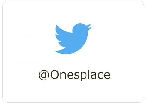 One's place Twitter