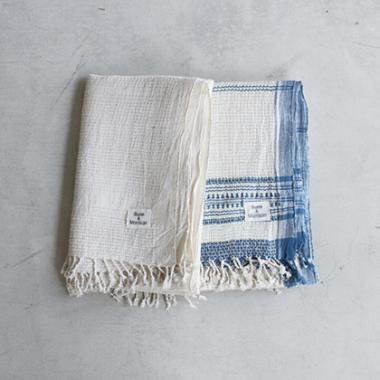 Organic Khadi Basket Bath Towel