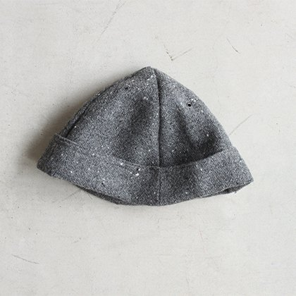 [別注]bowl cap wool GRAY