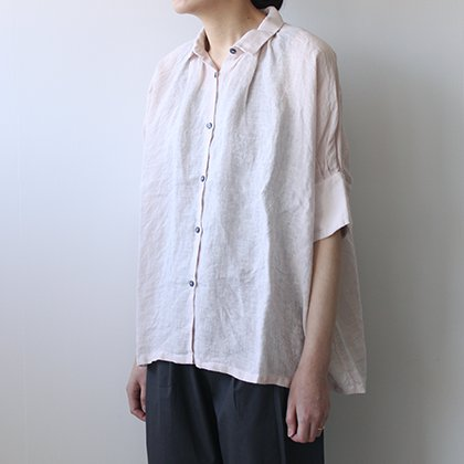 S/SLV Gather Blouse